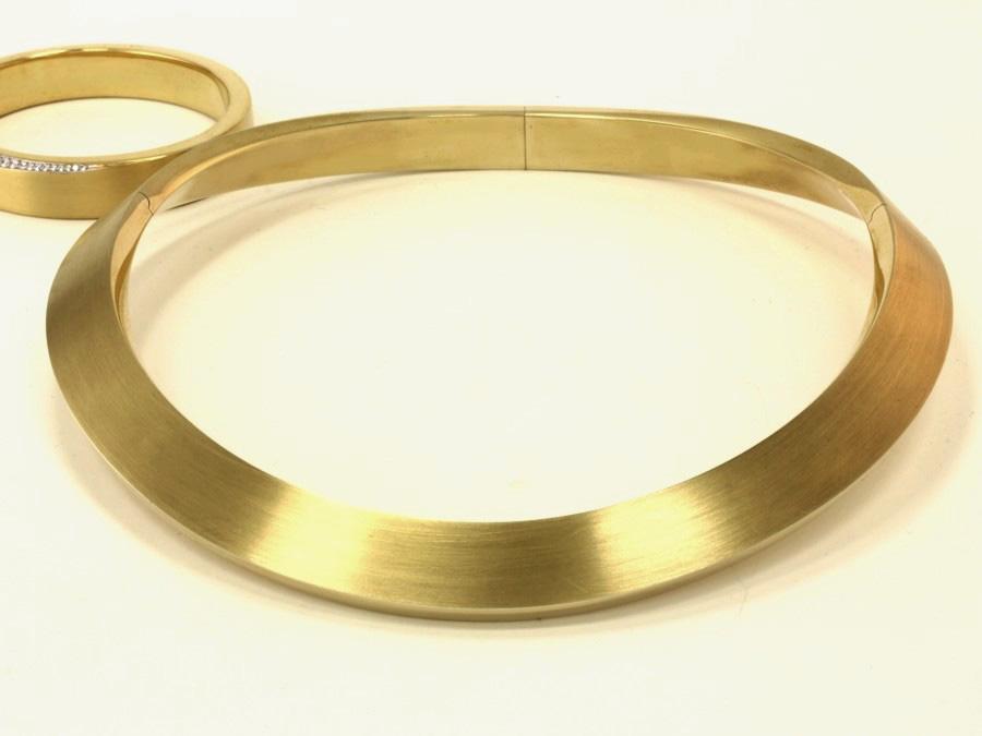 Gold Halsreif - 4030/13
