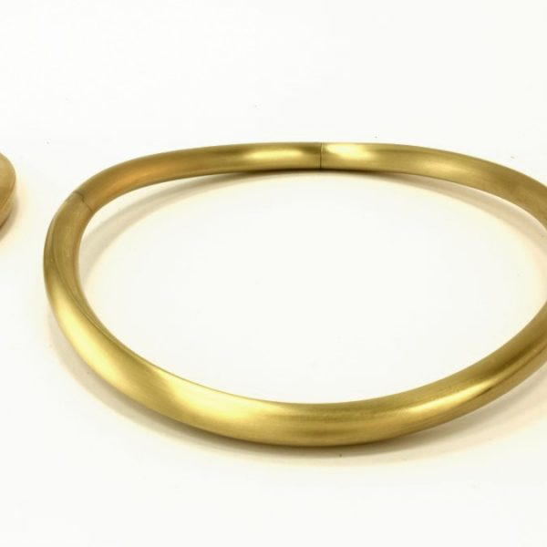 Gold Halsreif - 4056/9