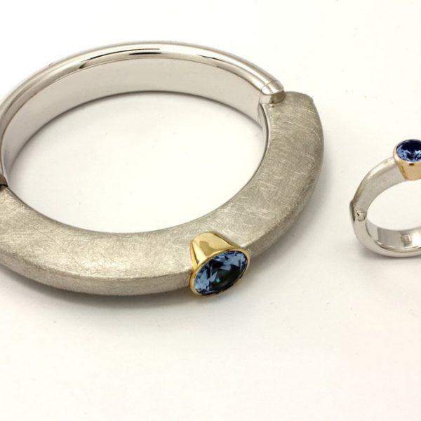 Silber Armreif - U503099/14 und U03099/7,5